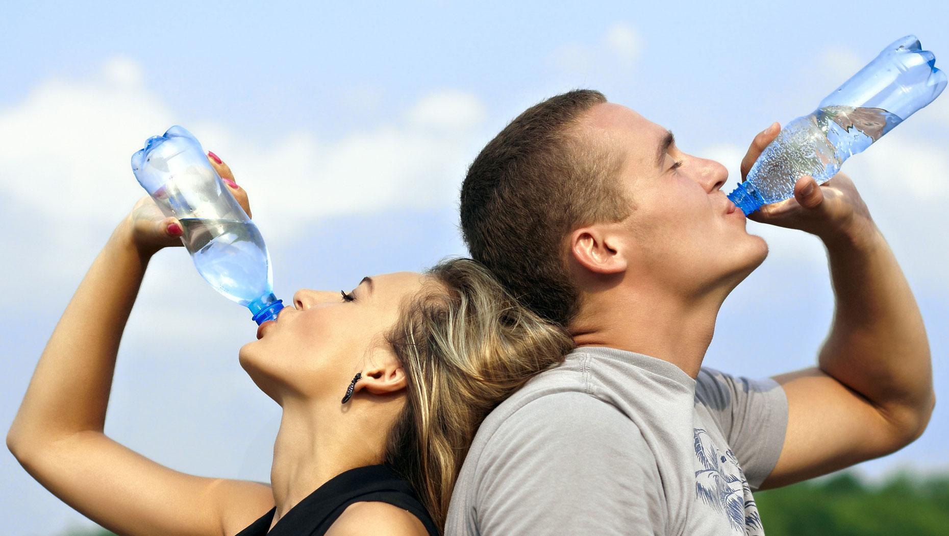 hidratación y salud oral