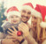 sonrisa en Navidad